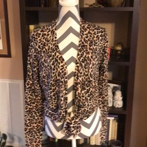 MODA International Medium Animal Print Sweater